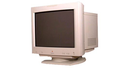 Apple Mac CRT monitor repair